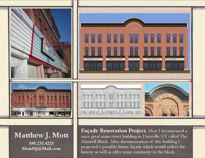 Façade Renovation Project.