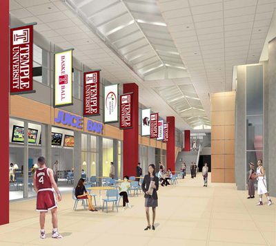 Temple University - Pearson-McGonigle Gymnasium Expansion