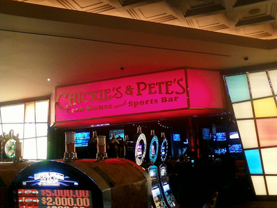 Parx Casino Chickie & Petes Wall