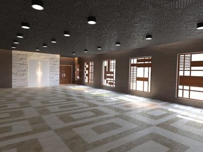 Iglesia Azteca Interior remodeling