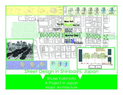 Shinbashi MacArthur Street Paroject