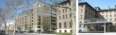Greenpoint Hospital. New Construction / Rehabilitation. 201 units, 214,800 SF. In progress 2011.