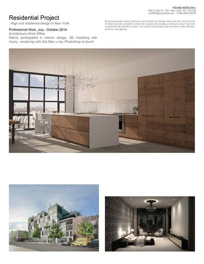 High-end Residential Interior and Exterior Design in New York