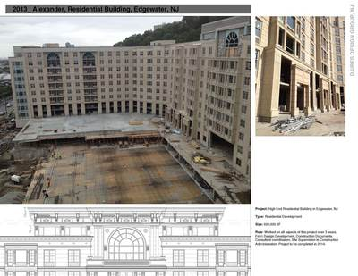 Alexander Residential Complex: 600,00 sf