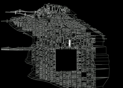 Vertical City in Manhattan