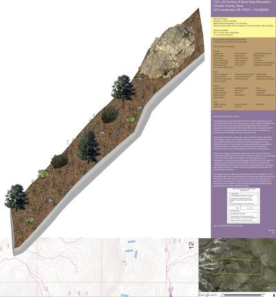 School Project: Sierra Vieja Mountains Transect