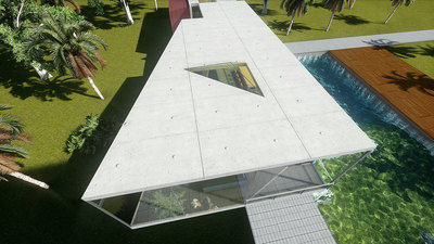 Neo Modernist House [real-time renders]
