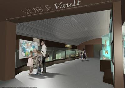 Visible Vault @ Natural History Museum