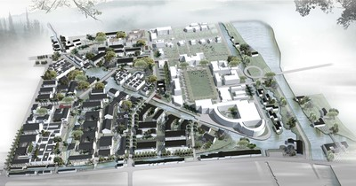 WATER - Urban Design for Tianci District, Suzhou Ancient City, Reappearance of Regional History and Culture , 2013.09