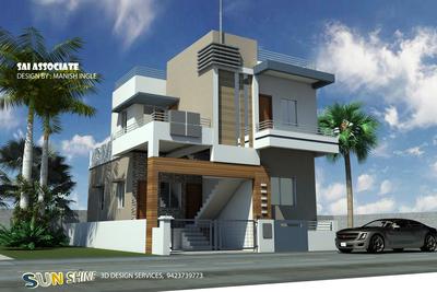 3d Home for Mr. Kishor Chandak Malkapur
