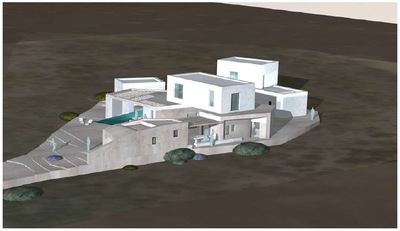 Luxury residence in Antiparos Island (2009)