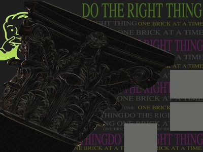 Do The Right Thing Graphic Board