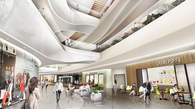 rTKL project   Taiyuan Shopping Mall, China