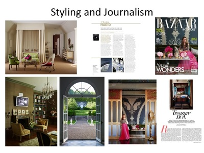 Design Writing and Styling Work