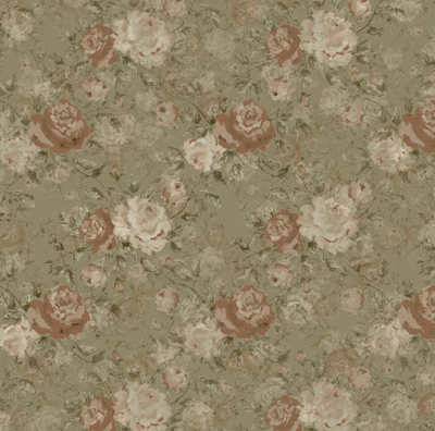 Wallpaper design - shabby chic