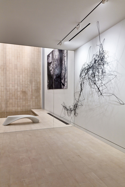 Synapse Straw Installation and Odalisque Bench