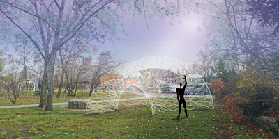 UltraViolet - Socrates Sculpture Park Folly 2015