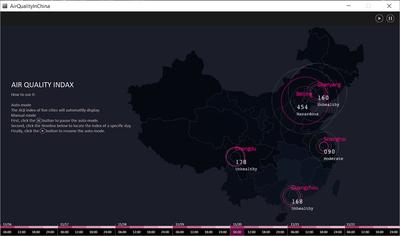 AQI Live Data Feed - Processing - By Siyao Zhang, Qinying Li
