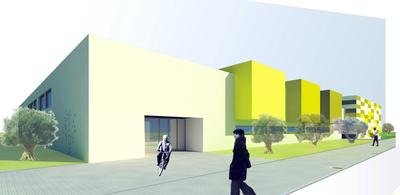 Secondary Education Institute in Palomares del Rio, Seville.