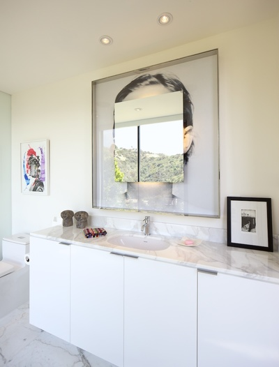 Bathroom Addition - Hollywood Hills - Mid Century