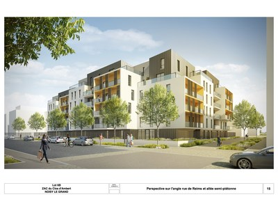 Collective Housings / 100 appartments