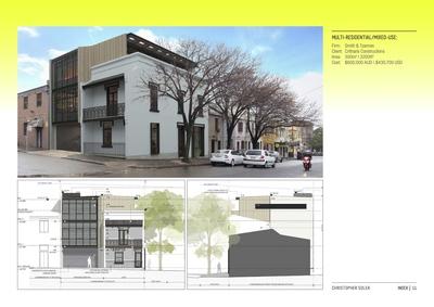 Marlborough St Terrace Adaptive Re-use