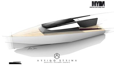 Y SEA RACER 30 - Motor boat design concept for MYDA 2013