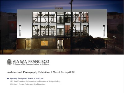 AIASF: Architectural Photography Exhibition