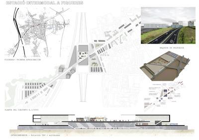 INTERMODAL STATION (ETSAB, 2011) Urban planning