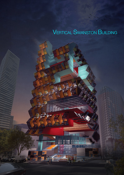 VERTICAL SWANSTON BUILDING