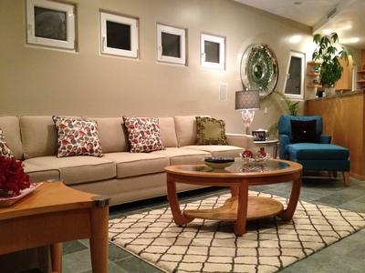 Living Room Design, Newport Beach, CA