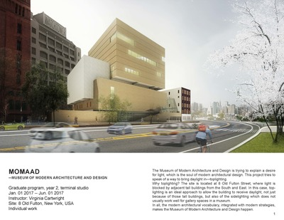 MOMAAD --Museum of Modern Architecture and Design