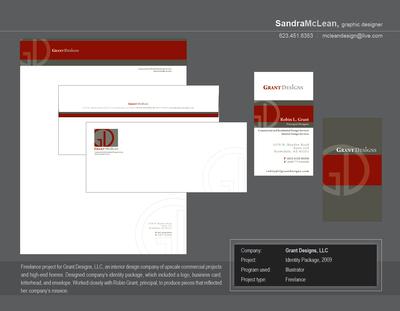 Grant Designs, LLC identity package