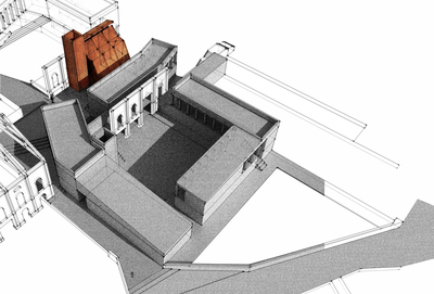 B.Sc Design Project - Maternity Unit and Respite Care for the Elderly, Murano, Venice