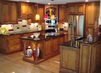 roberts residence custom kitchen