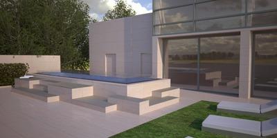 Mini Pool for Hotel C Lecco Italy