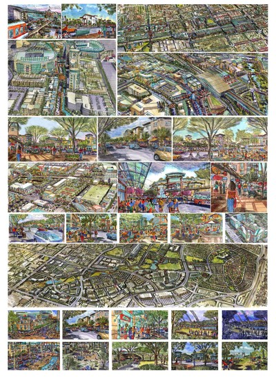 Urban projects, concepts and visuals