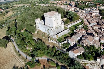 "Restoration works of an historical building (eleventh century) ""Fanelli Castle"""