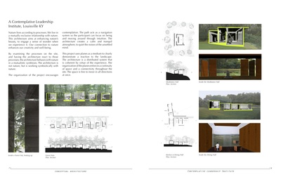 Architectural Design: Contemplative Leadership Institute