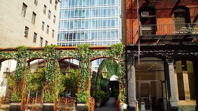 Garden Facade @ Mondrian Hotel