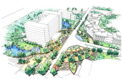 Anshun Campus Landscape Planning + Design
