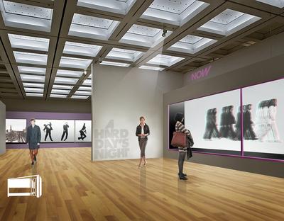 NOW gallery - art exhibit space in Chelsea - London.UK