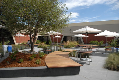Apple Mariani 3 Campus Courtyard