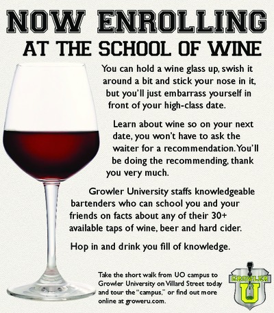 Growler University - Ad Campaign