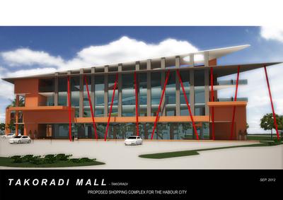 Proposed Takoradi Mall
