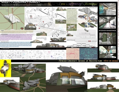 HOWARD UNIVERSITY SCHOOL OF ARCHITECTURE & DESIGN SAMPLES
