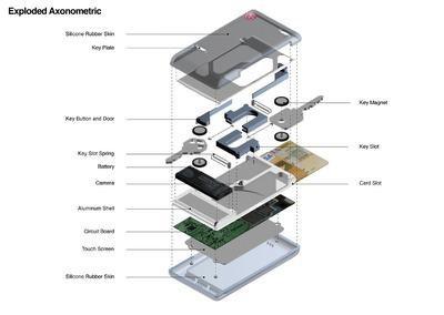 Unio. LG phone design competition, 2010.