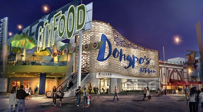 RTKL project   Dongpo Kitchen Restaurant in Universal City Walk