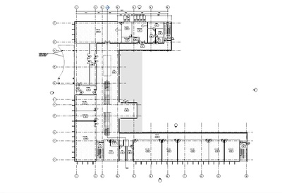 Three Story Office Building-Entry level