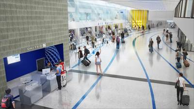 LAX United Airlines Terminal Redevelopment Program & United Club